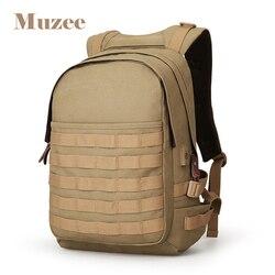 Muzee Canvas plecak z ładowarką usb mężczyźni zieleń wojskowa plecak torba o dużej pojemności mężczyźni 15.6 cala torby szkolne