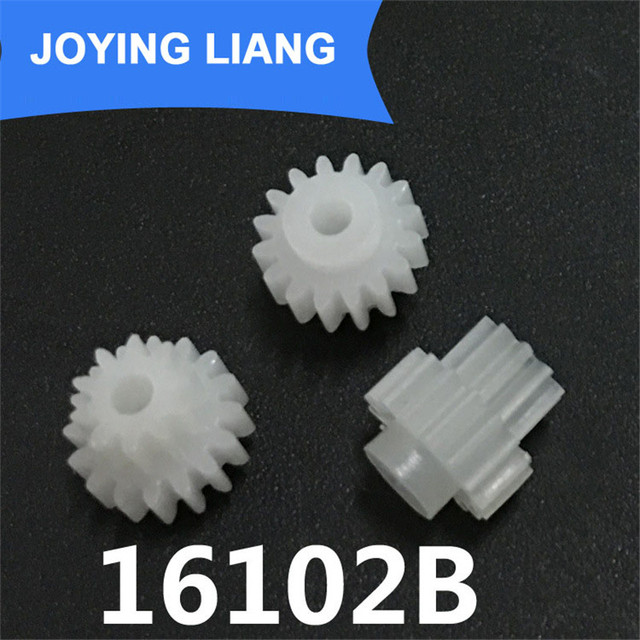 The 16102b Gear Module 0 5 Plastic Gear Double Cone  Tooth Loose 2mm