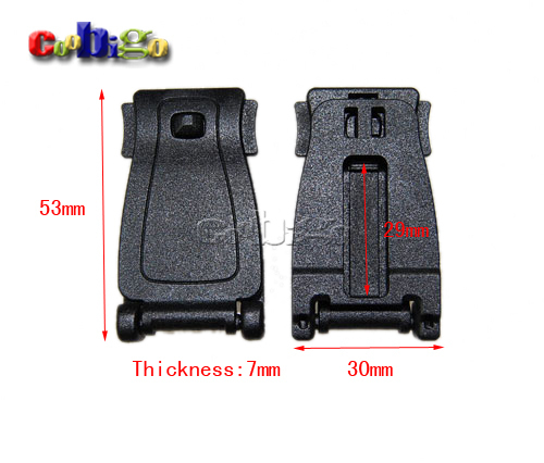Aliexpress.com : Buy 1000pcs Plastic Hardware Molle Tactical ...