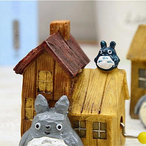 My Neighbor Totoro House Music Box