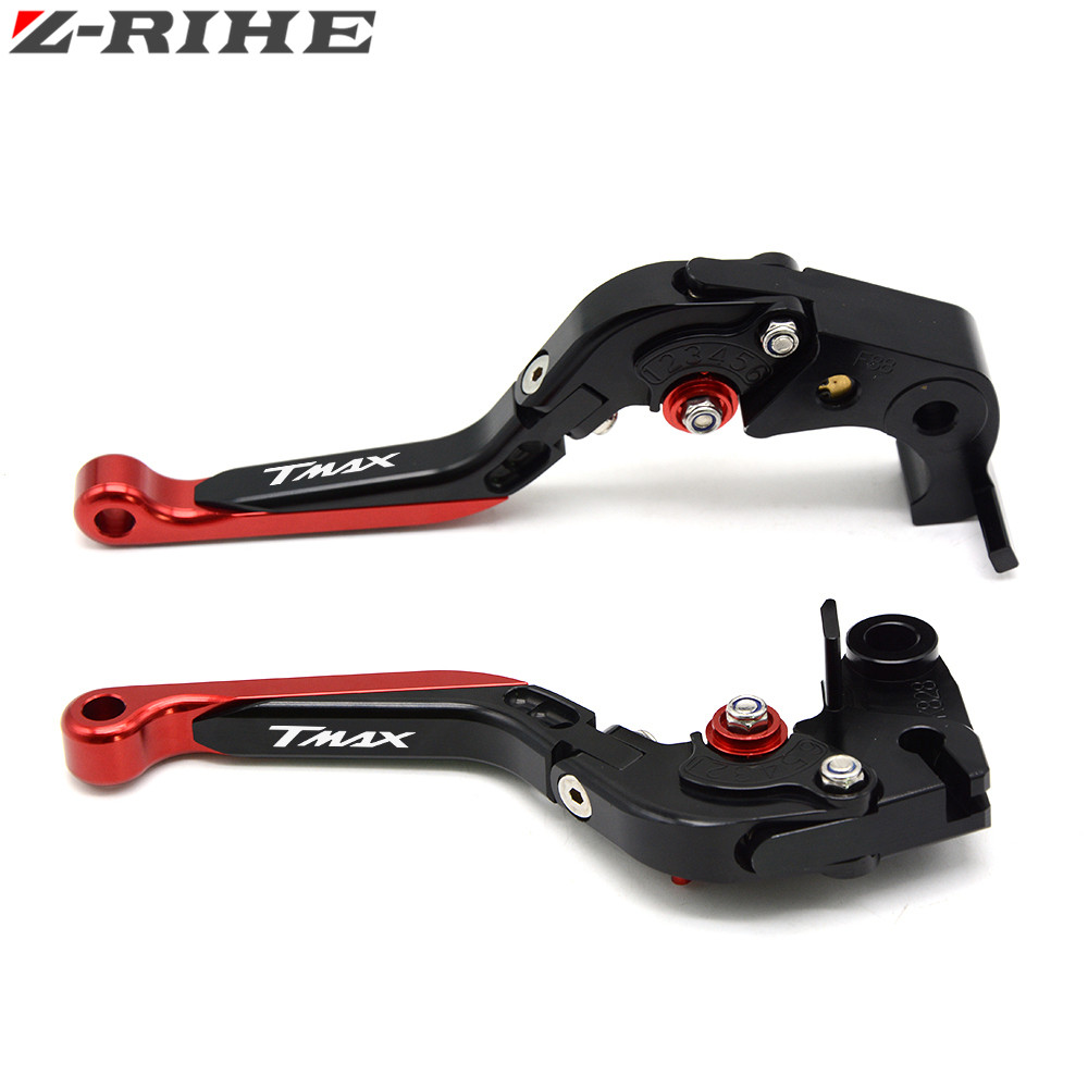 for YAMAHA TMAX 500 T MAX 530 tmax530 tmax500 2003-2017 High Quality Folding Extendable Motorcycle Adjuster Brake Clutch Levers