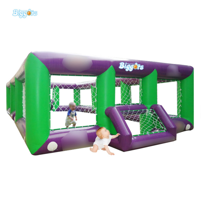 Inflatable Biggors Cheap Price All Cover Inflatable Football Field Inflatable Soccer Field Without Mattress Free Shipping купить