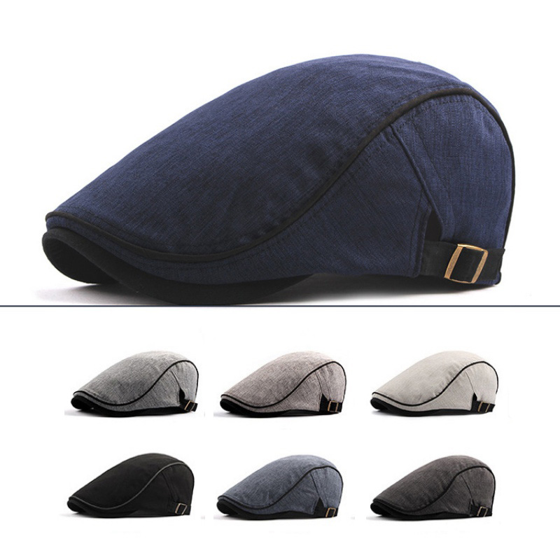 Beret Golf Cap Women Men Retro British Style Adjustable Built-in Cotton Running Sweatband Hat Outdoor Unisex Head Wear Hiking baby mom changing diaper tote wet bag for stroller mummy maternity travel nappy bag backpack messenger bags bolsa maternidad page 5