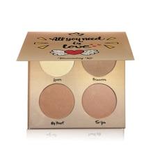 Aurelife Glow Kit Faced Makeup Highlight Contour Palette Highlighter Makeup face Palette glowkit powder illuminator Bronzer недорого