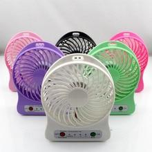1 шт. мини-вентилятор Панель 6 цветов охлаждающий элемент вентилятор для путешествий кемпинга охлаждение Открытый Рыбалка Портативный