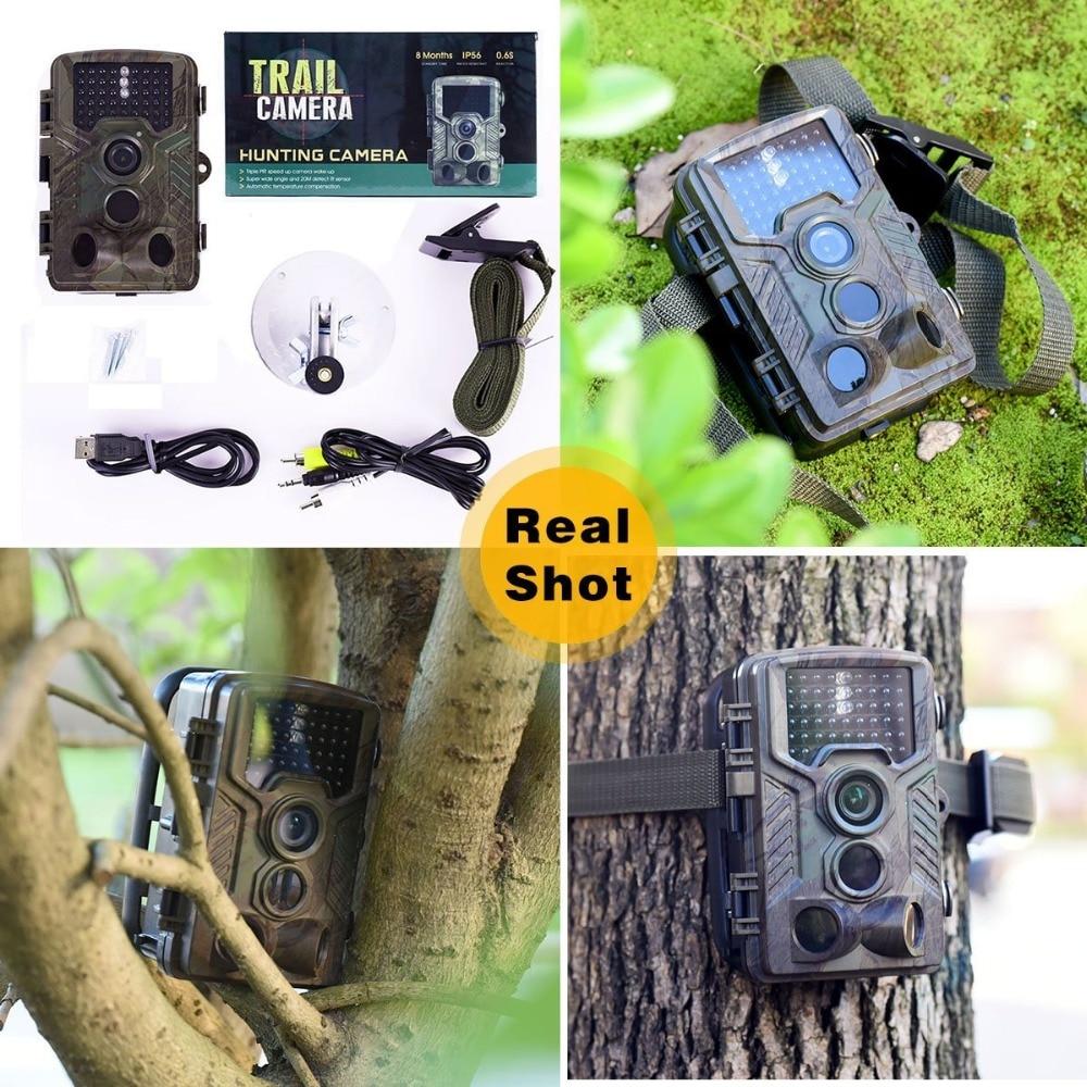 Night Vision Hunting Camera 16MP 1080P Wildlife Trail Camera Trap Infrared 46pcs IR LEDS Scoutguard Digital Camera H881 bestguarder digital night vision monocular ir wildlife 6x50mm 5mp hd camera hunting infrared 850nm night vision telescope