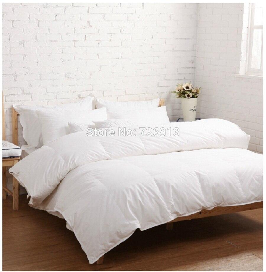 260GSM King Queen Full Twin Goose Down Doona Quilt Duvet Blanket Comforter