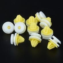 Panneau de garniture de porte intérieur de voiture 50 pièces, Clips en plastique, Rivets pour Renault Clio Scenic, mégane, Twingo