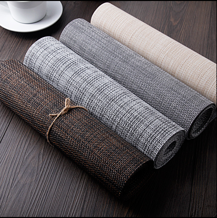 japanese style table runner pvc coffee table mat modern minimalist table fashion personality home living room table flag q391
