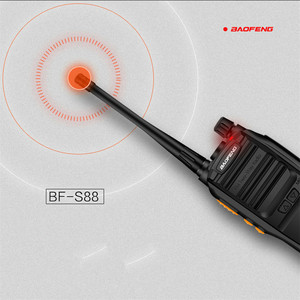 Image 4 - Baofeng S88 Mini Walkie talkie Drahtlose Tragbare Private Stick Hotel Tourie Sicherheit Walkie talkie 5 KM Radio Comunicador