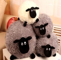 Cartoon Cute Grey Sheep Plush Toys Stuffed animal Christmas Birthday Gift Present For Baby Kids Children Friend Triver WYQ