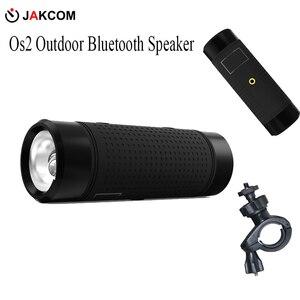 Image 2 - Уличная Bluetooth Колонка Jakcom Os2, водонепроницаемая портативная велосипедная колонка с внешним аккумулятором на 5200 мАч, сабвуфер, басовый динамик светодиодный светильник кой