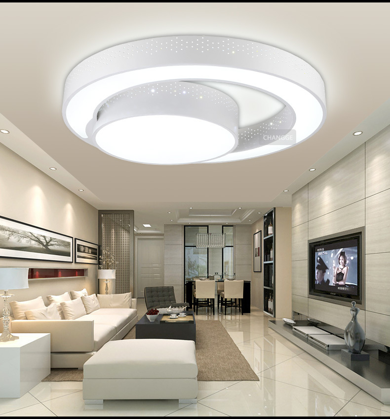 modern ceiling lights for bedroom 30w 45cm modern ceiling light brief circle q shape ceiling 19243