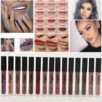 Fashion Brand Metallic Makeup Waterproof Liquid Matte Lipstick Long Lasting Lip Gloss Lip Tint Kit Beauty Cosmetics