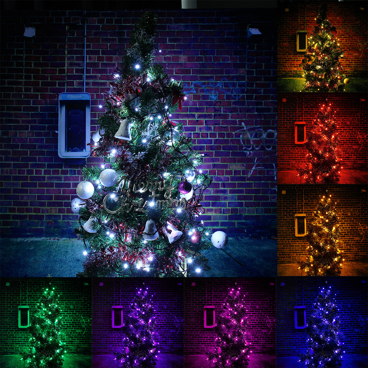 10M 100 LED AC 220V String Fairy Light Waterproof Outdoor Garland Tree Christmas Xmas Wedding Party Lamp Holiday Decoration