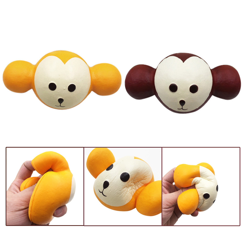 11cm Cute Hericium Cartoon Scented Squishy Charm Slow Rising Squeeze Toy Charm funny gadgets electronicos for antistress