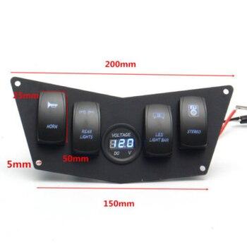 Dash  Panel 4 Switch Fits For Polaris Ranger RZR 800S 900XP XP900 570 Motors Part