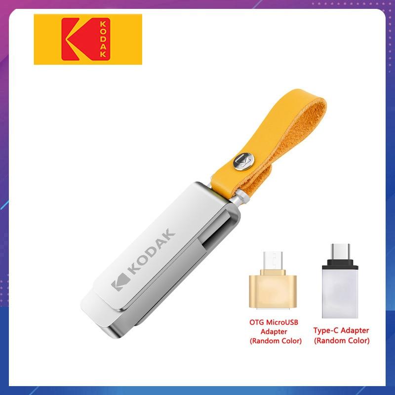 USB флеш-накопитель Kodak 3,1 K133, металлический usb флеш-накопитель, 16 ГБ, 32 ГБ, карта памяти, usb 3,0, 64 ГБ, 128 ГБ, U диск, 256 ГБ, флешка, usb-накопитель