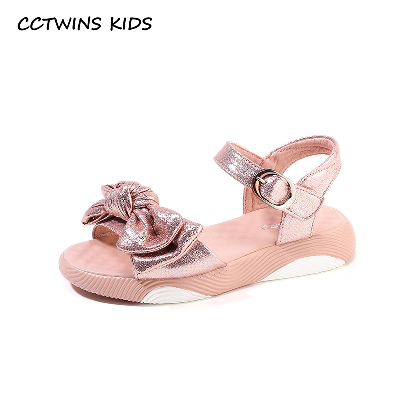 CCTWINS Kids Shoes 2019 Summer Girls Fashion Princess Party Sandals Children Bow tie Flat Toddler Baby Soft Barefoot Shoes BS206CCTWINS Kids Shoes 2019 Summer Girls Fashion Princess Party Sandals Children Bow tie Flat Toddler Baby Soft Barefoot Shoes BS206