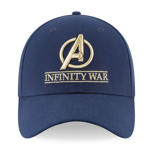 2018 Movie Avengers 3 Infinity War Thanos Glove Cosplay Hats 10th Anniversary Embroidery Unisex Baseball Caps Accessories