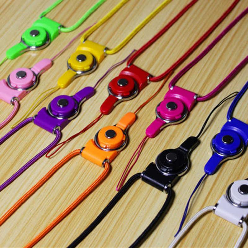 1 X Dilepas Ponsel Ponsel Kamera Leher Tali dengan Pemegang Cincin Ponsel Tali Aksesoris Suku Cadang