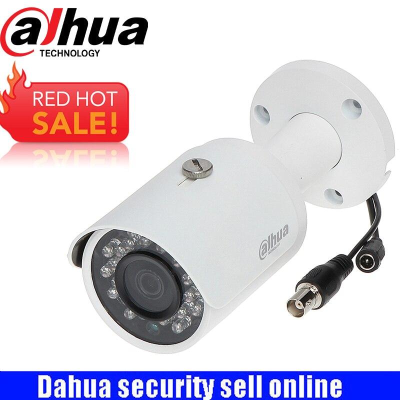 Видеонаблюдения Dahua Водонепроницаемый HDCVI PoC пуля ИК Камера HAC-HFW1200S-POC 2MP 1080 P HD и SD выход переключаемый
