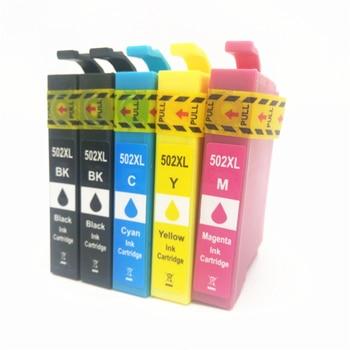 Vilaxh t502 compatible for Epson t502xl ink cartridge for Epson premium xp-5100 xp-5105 wf-2865 wf-2860 Europe printer