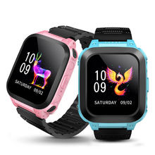 Children's watch Water Resistant Touch Screen Voice Chat One Key SOS For Help Camera Game Alarm Clock Wrist Watch(China)