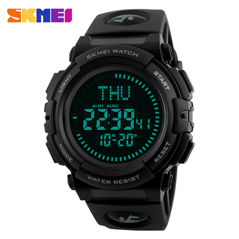 New Brand Outdoor Sports Compass Watches Hiking Men Watch Digital Led Electronic Watch Man Sports Watches Chronograph Men Clock And To Have A Long Life. Watches
