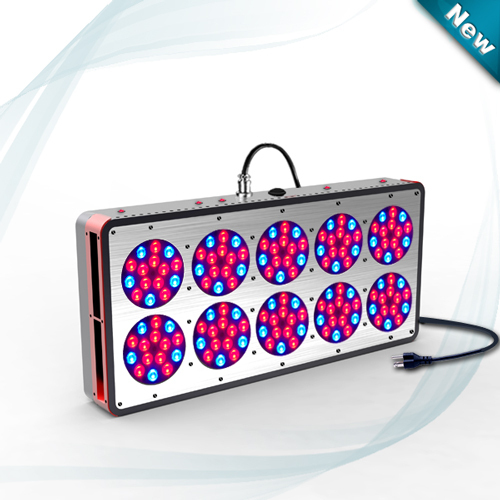 Free shipping by Fedex , New style Apollo 10 Led Grow Light 450W (150*3W) with best quality