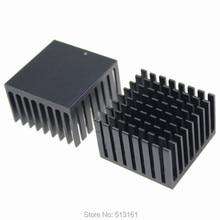 2 Pieces/lot Aluminum Heatsink  Heat sinks Radiator Cooling Fins For PC 20pcs mos tiny aluminum heat sinks cooling radiator heatsink