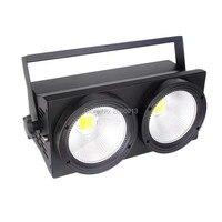 Niugul 200 W COB LED Blinder światła Ciepły Biały i Zimny biały Publiczność DMX512 Etap Efekt oświetlenie Led 2x100 W Światło Szybko wysyłka