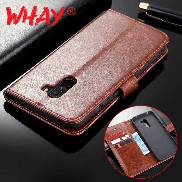 best service 644f6 259f4 US $3.5 24% OFF|Aliexpress.com : Buy Poco f1 Leather Case For Xiaomi  Pocophone F1 Flip Case For Xiomi Xiaomi Mi A1 5X Max 3 Note 2 Redmi 5 Plus  Note 6 ...