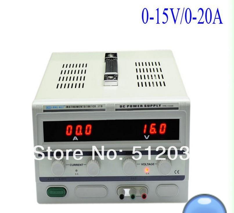 TPR-1520D 15В/20A источник питания постоянного тока