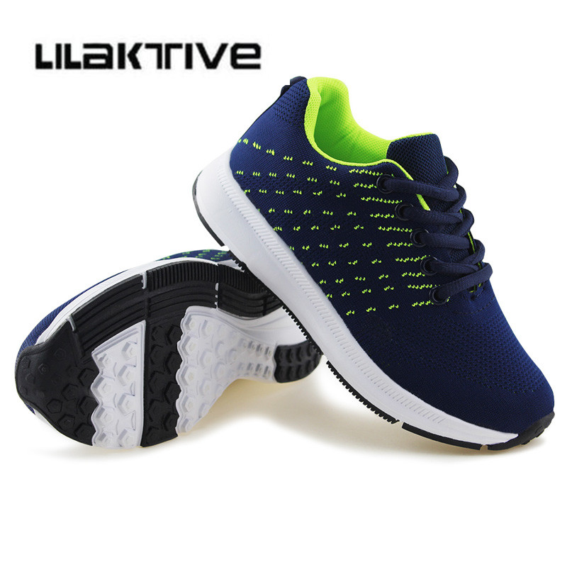 Girls outdoor sneakers kids sport shoes boys  running trainers kids school shoes children breathable traveling trainers