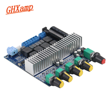GHXAMP TPA3116 2.1 서브 우퍼 블루투스 앰프 디지털 오디오 보드 50W * 2 + 100W Bass AUX For 2.1 블루투스 스피커 DIY NEW