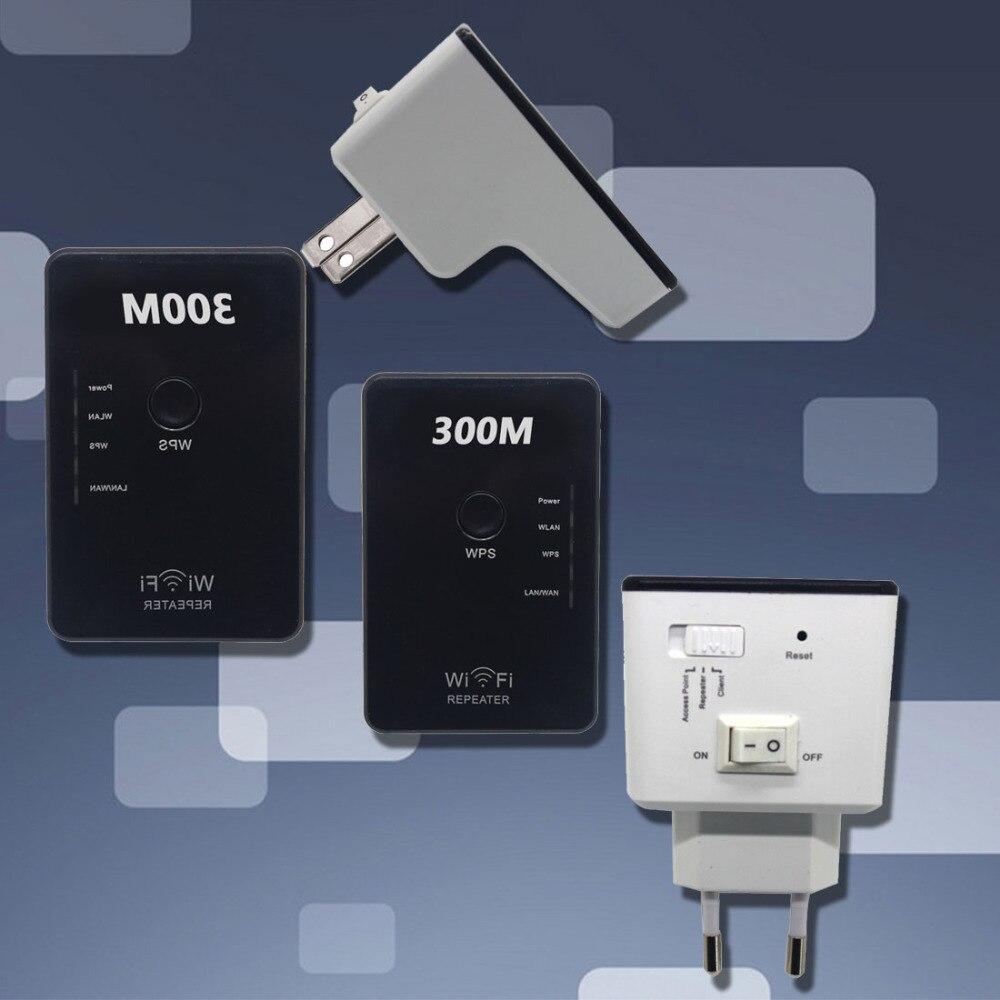 NOYOKERE IEEE 802.11n/b/g 300Mbps Wireless Wifi Repeater Extender Network Transmitter Signal Booster AP Access Point EU US plug