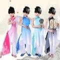 Детские Классические Танцевальные Костюмы Китайский Yangko Танец Dress Дети Девушка Китайский Народный Костюм Студент Танец Одежды 18