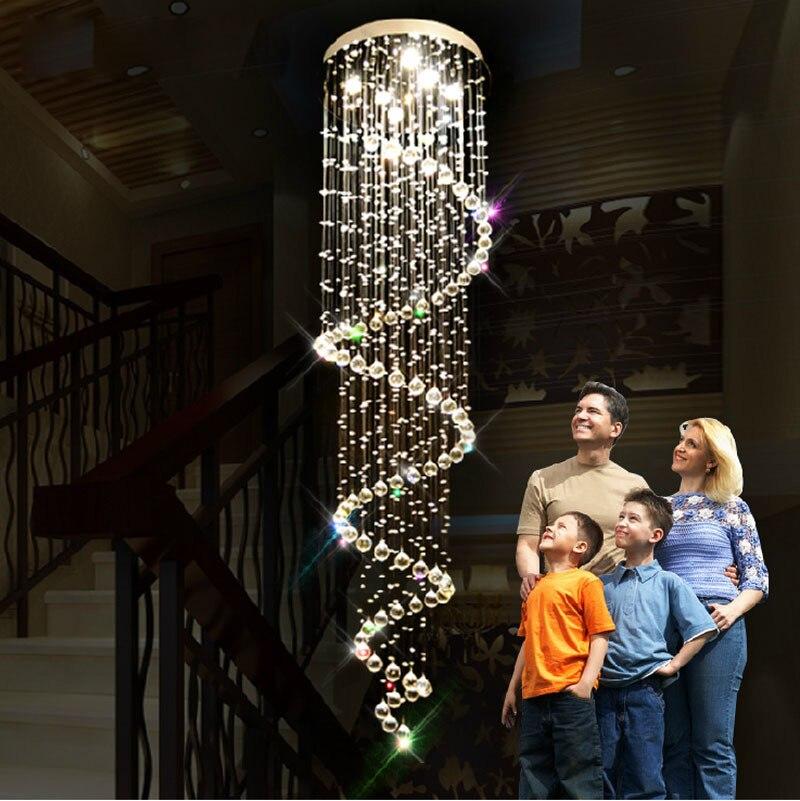 Modern Crystal Dome LED Ceiling Lights GU10 Cristal Stairs Light Lamp Aisle Porch Parlor Hallway Corridor Lustre недорго, оригинальная цена