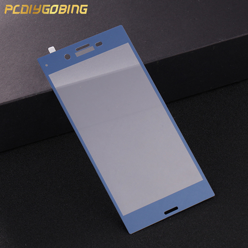 PCDIYGOBING For Sony Xperia XZ F8331 Dual Sim F8332 Tempered Glass for Sony Xperia XZ Glass Film Full Cover Screen Film 2.5D