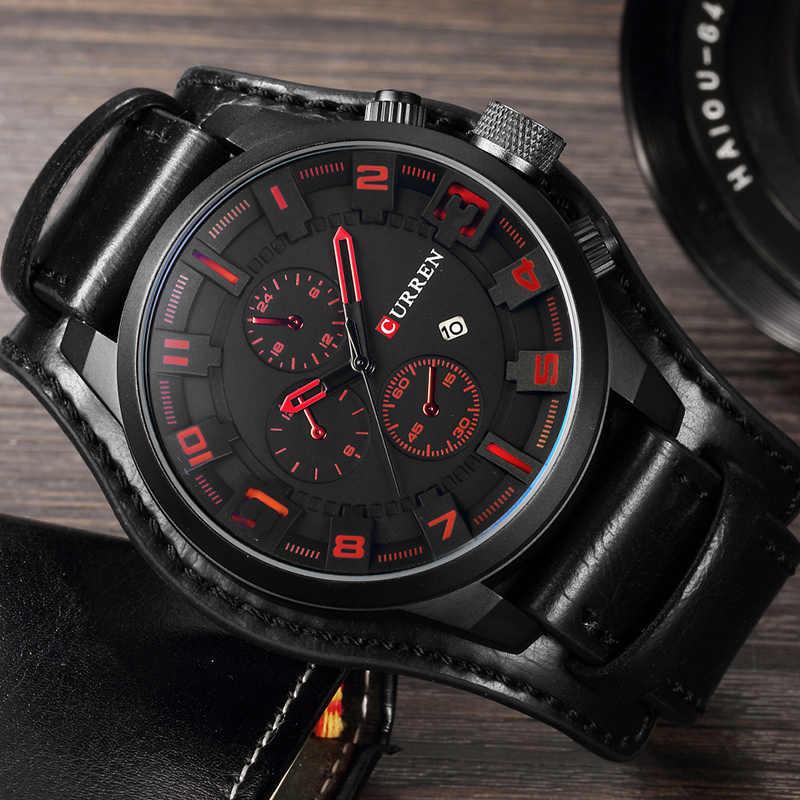 Элитные мужские часы Curren 8225 в Нефтекамске