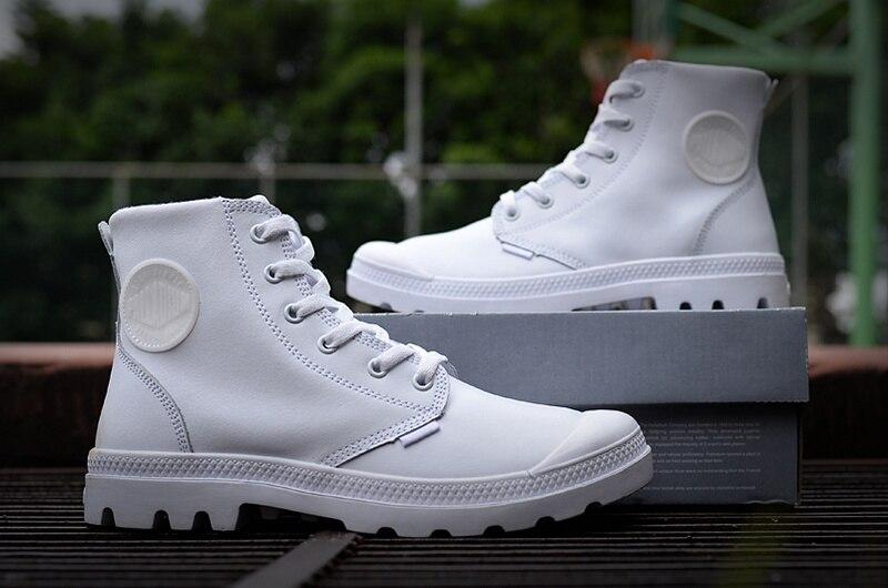 Bottes Palladium À 4 5 Carré Printemps Soldats Chaussures 2 Lacets Bottines Cuir En 2017 3 Femmes 1 Bout Moyen Automne 6 WIqcOfBI