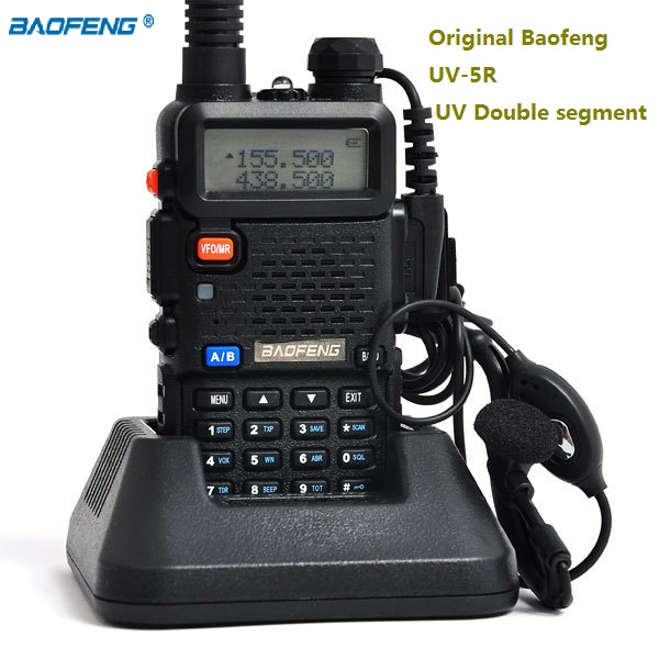 Original baofeng uv-5r Dual Band walkie talkie hf transceiver cb radio comunicador 128CH FM handheld two way radio BAOFENG UV-5ROriginal baofeng uv-5r Dual Band walkie talkie hf transceiver cb radio comunicador 128CH FM handheld two way radio BAOFENG UV-5R