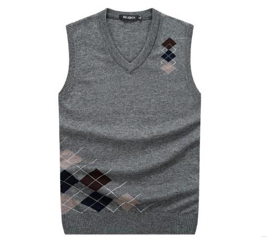 Men/'s Jumper Sweater Sleeveless Vest Tank-Top Slim Fit V Neck Assorted Pullover