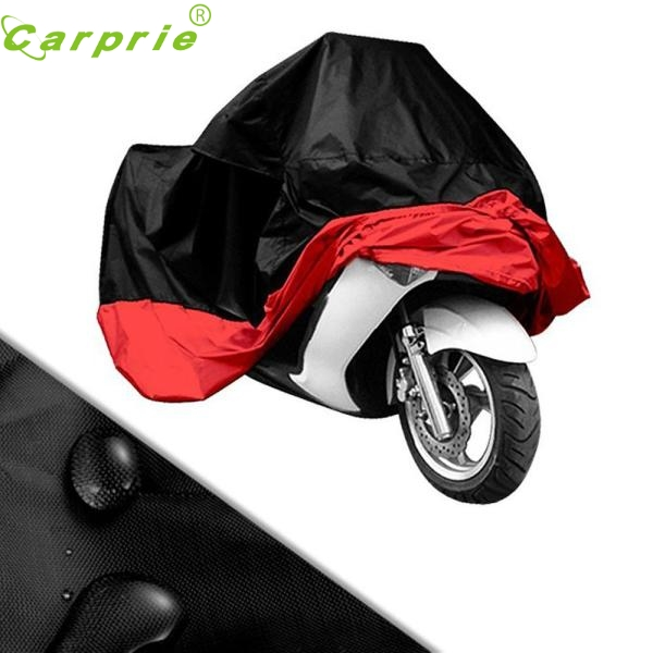 AUTO Hot Sale RED Motorcycle Cover Waterproof Outdoor UV/Dust Protector Bike Rain Dustproof Cover for Motorcycle Scooter SE 16