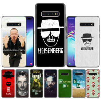 Capas Case Coque for Samsung Galaxy S10 S9 S8 Plus 5G A30 A50 A70 A40 A20 Note 8 9 10 Cover Carcass Breaking Bad Chemistry Walte image