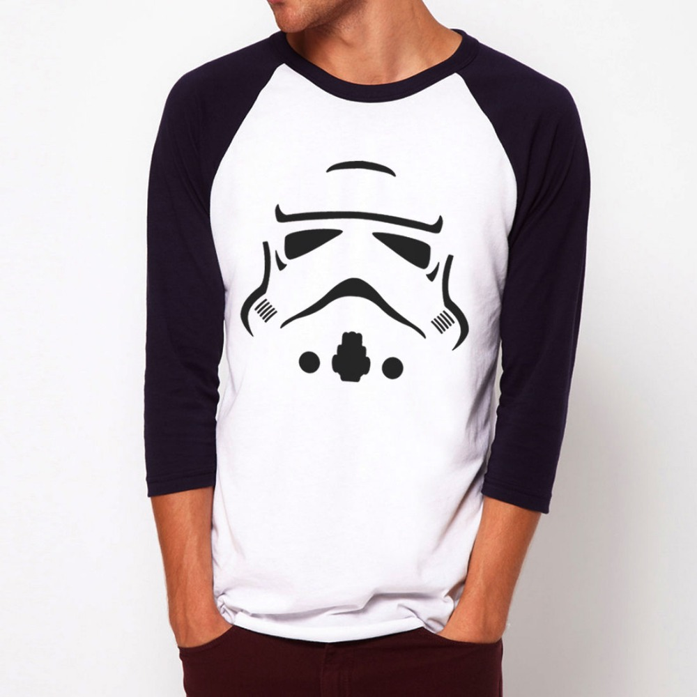 stormtrooper retro star wars baseball jersey t shirt 3 4 sleeve raglan tee shirt on aliexpress. Black Bedroom Furniture Sets. Home Design Ideas
