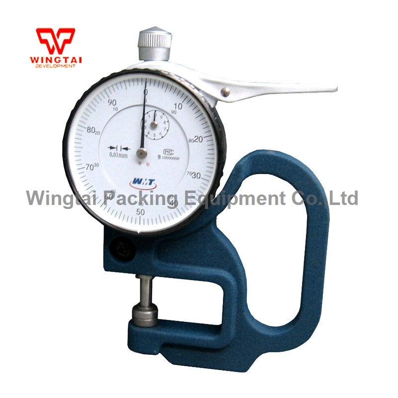 Measuring Range 0-10mm, Measuring Depth 30mm Portable Dial Thickness Gauge
