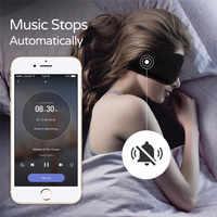 Sleepace Sleep Headphones Comfortable Washable Eye Mask Smart App Sound Blocking Noise Cancelling Earphone Remote Control