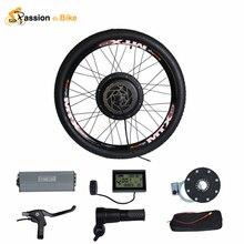 """Pasión Ebike 48V1000W Bicicleta Bicicleta Eléctrica kit de conversión de la rueda Trasera de la Bici del motor para 20 """"24"""" 26 """"28"""" 29 """"700C Rueda de Motor"""